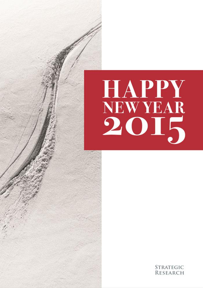 Greetings card 2015 Strategic Research