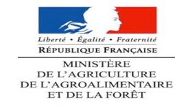 Logo Ministère de l'agriculture, de l'agroalimentaire et de la forêt