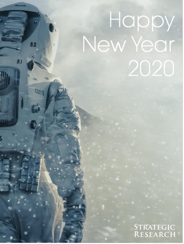 Strategic Research 2020 greetings card