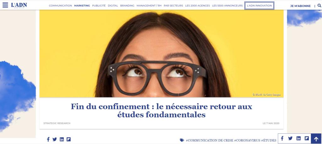 """Illustration article """"Fin du confinement : le nécessaire retour aux études fondamentales"""""""